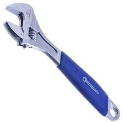 Ключ разводной 200мм с обрезиненной ручкой СТАНДАРТ AWR2200