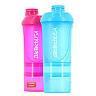 СмартШейкер BioTech USA Розовый 600 ml / Pink для девушек, женщин, фото 2