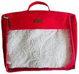 Набір дорожніх сумок 5 шт (червона), фото 3