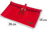 Набір дорожніх сумок 5 шт (червона), фото 8