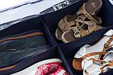 Органайзер для взуття на 6 пар (джинс), фото 5