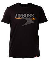 Футболка Airboss Metal Eagle 271180003225 (чорна)