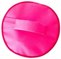 Круглий органайзер для косметики (Рожевий), фото 5