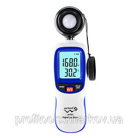 Цифровий люксметр + термометр 200000 Lux WINTACT WT81