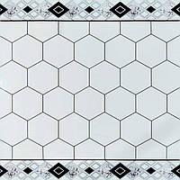 Самоклеюча вінілова плитка 600х600х1,5мм, ціна за 1 шт. (СВП-211) Глянець, фото 1