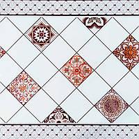 Самоклеюча вінілова плитка 600х600х1,5мм, ціна за 1 шт. (СВП-213) Глянець, фото 1