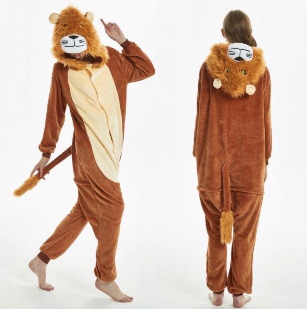 Пижама женская кигуруми лев
