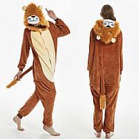 Пижама женская кигуруми лев, фото 1