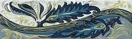 Фріз Golden Tile 200*60 Олександрія голубий