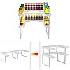 Полка-органайзер для спецій Spicy Shelf / Багатофункціональний органайзер-полиця для спецій і банок, фото 4