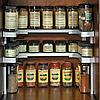Полка-органайзер для спецій Spicy Shelf / Багатофункціональний органайзер-полиця для спецій і банок, фото 10