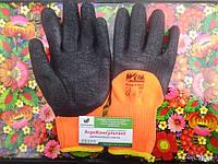 Робочі рукавички Werk WE2133, р. 10 трикотажні посилені з латексним покриттям