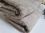 Полотенце махровое, Кофейный, фото 2
