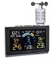 Беспроводная метеостанция для дома TFA Spring Breeze Black (208*26(54)*140 мм)