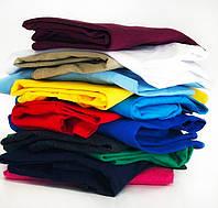 Хлопковая футболка М базовая однотонная классическая спортивная оверсайс мужская женская яркая желтая
