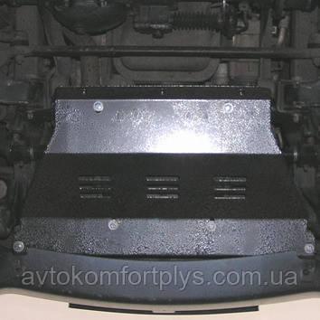 Металлическая (стальная) защита двигателя (картера) Hyundai Terracan (2001-2007) (V-2.9D; 3,5I)