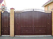 Каркас распашные ворота