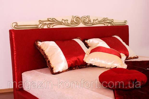 Кровать двуспальная Ева