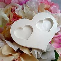 Підставка для обручок серце
