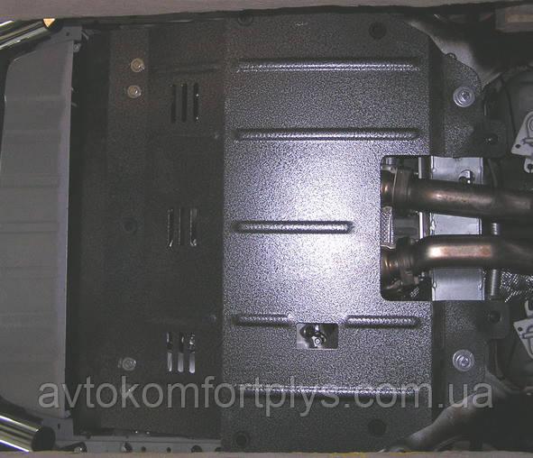 Металлическая (стальная) защита двигателя (картера) Volvo XC90 (2003-2006) (V-все)