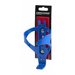 Флягодержатель Crossride CR-BC18 синій