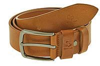 Кожаный ремень Classico, коньяк, фото 1