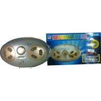 Динамо фонарь с радио MS-520 светодиодный