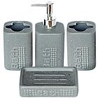 Набір аксесуарів для ванної кімнати 4 пр. Bath SNT 888-06-030
