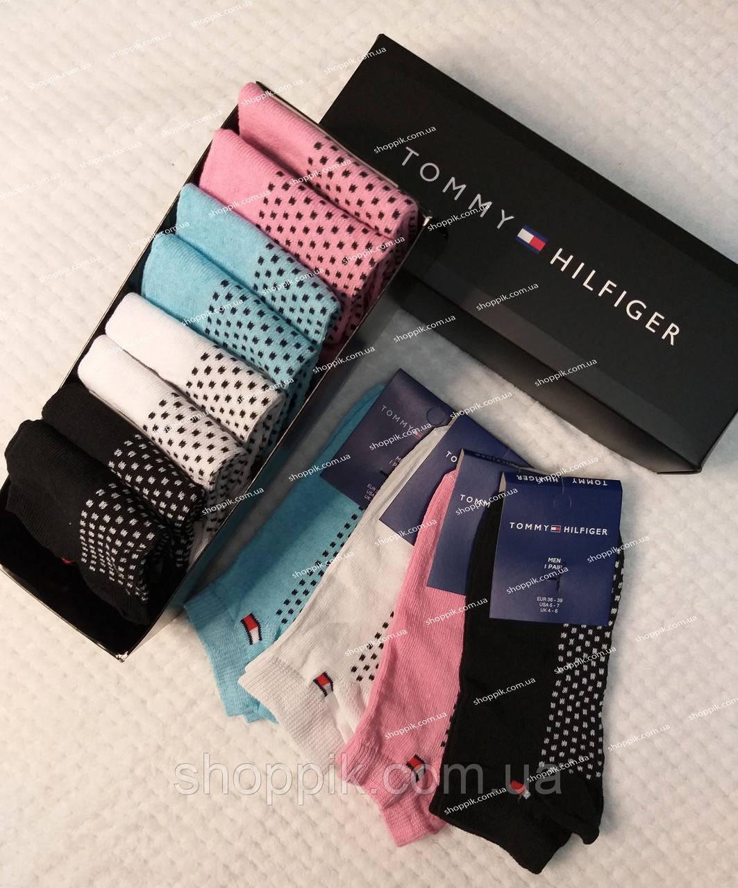 Женские носки Tommy Hilfiger 9 пар в подарочной упаковке