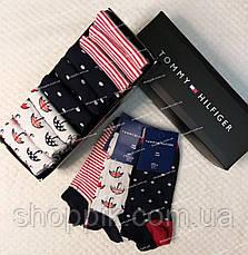 Женские носки Tommy Hilfiger 9 пар в подарочной упаковке, фото 3