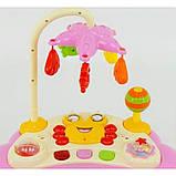 Дитячі ходунки музичні для дівчинки «Music Car» JOY D 28 (рожеві), фото 2