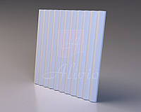 Гіпсові панелі, декоративні панелі, 3д/3d, облицювальні панелі, серія Linea 60х60