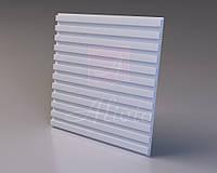 Гіпсові панелі, декоративні панелі, 3д/3d, облицювальні панелі, серія Rails