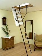 Чердачная лестница Oman MINI STALLUX 4 80x70