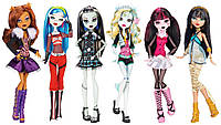 MONSTER HIGH Набор базовых кукол (6 штук) Dolls Original Ghouls Collection Монстер хай
