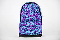 Стильний міський рюкзак з принтом мізки