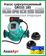 Насос циркуляционный Gross 25-6/180