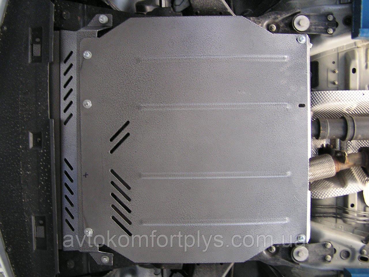 Металлическая (стальная) защита двигателя (картера) Jaguar X-Type AWD V6 (2001-2009) (V-2,5; 3,0)