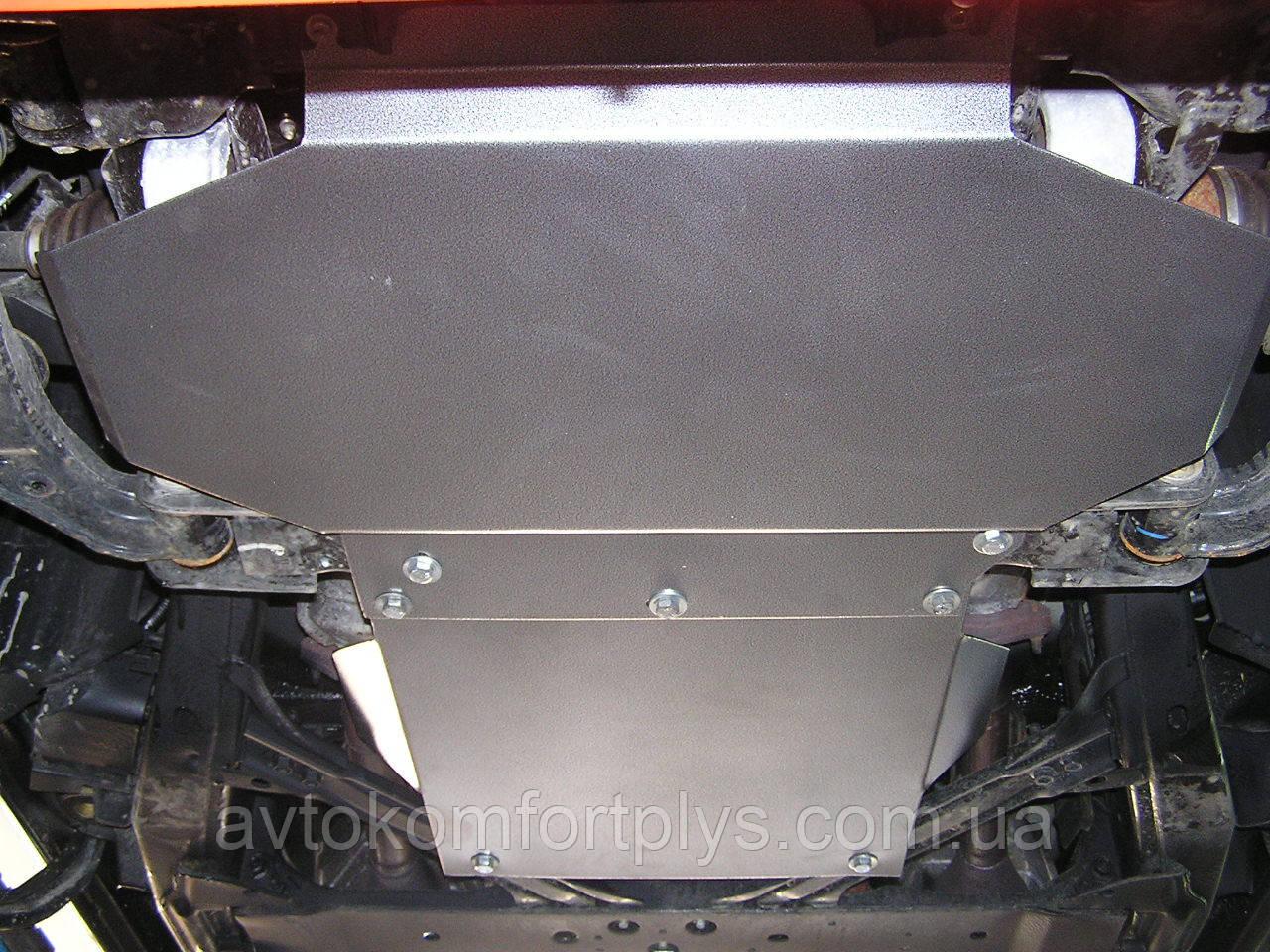 Металлическая (стальная) защита двигателя (картера) Nissan X-Terra (2005-) (V-4,0)