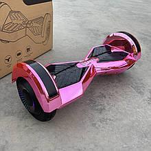 """Гироборд Smart Balance 8"""" рожевий хром"""