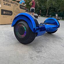 """Гироборд Smart Balance 8"""" синій хром"""