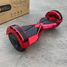 """Гироборд Smart Balance 8"""" червоний хром"""