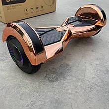 """Гироборд Smart Balance 8"""" персиковий хром"""