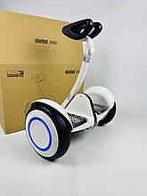 Гироскутер Smart Balance Ninebot Mini белый  со светящимися колесами