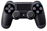 Sony Dualshock для Playstation 4 Black (джойстик)