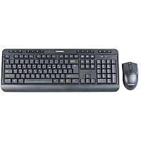 Беспроводный комплект клавиатура мышь  Nano 814 Set, black