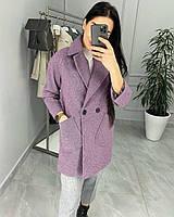Класичне жіноче кашемірове пальто на гудзиках (Норма), фото 2