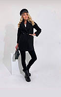Класичне жіноче кашемірове пальто на гудзиках (Норма), фото 5