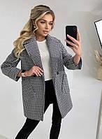Класичне жіноче кашемірове пальто на гудзиках (Норма), фото 7