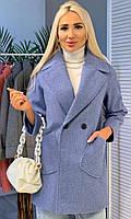 Класичне жіноче кашемірове пальто на гудзиках (Норма), фото 8